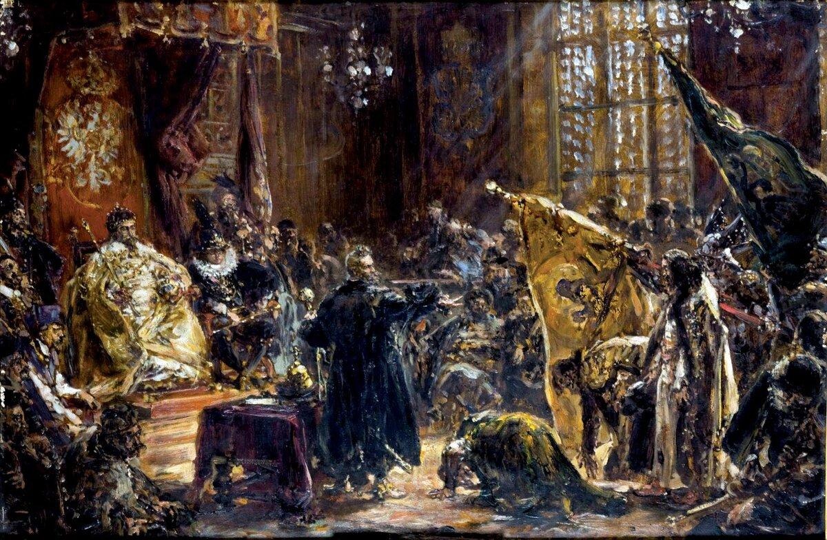 29 октября 1611 года поляки устроили в Варшаве празднование по случаю «окончательной» победы над Московией