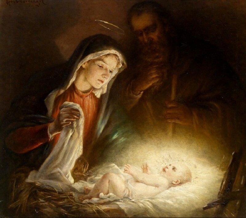 Новогоднее и рождественское поздравление в стихах активно занималась