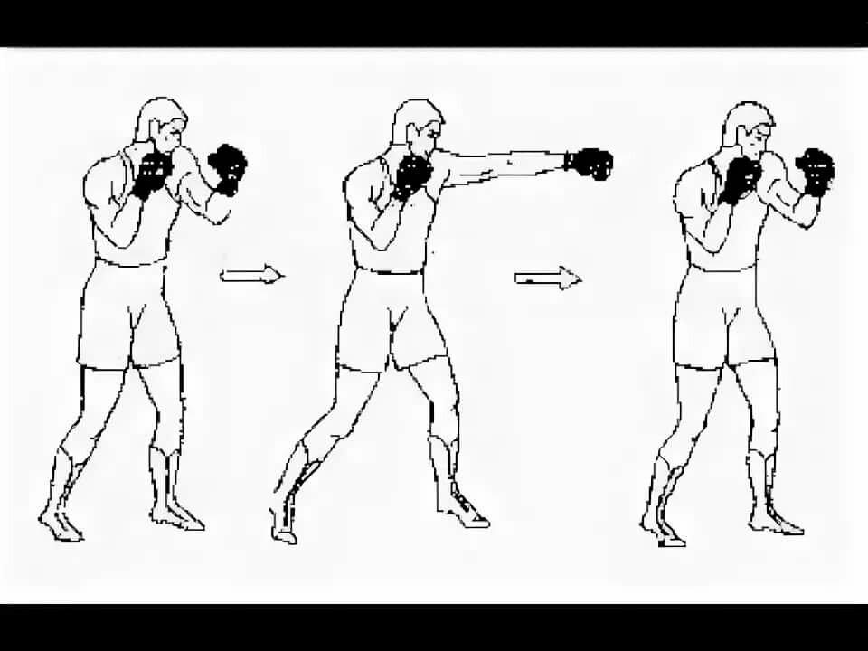 Тайский бокс приемы и удары в картинках
