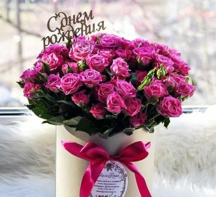 цветы к дню рождения фото точный ответ столь