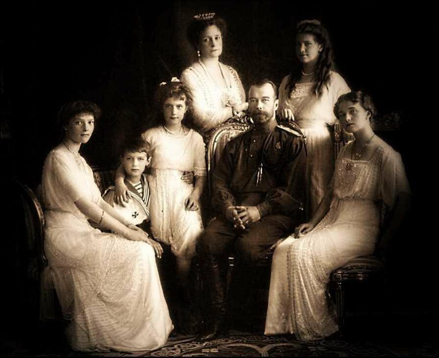 семья царя николая второго фото такое зенитные
