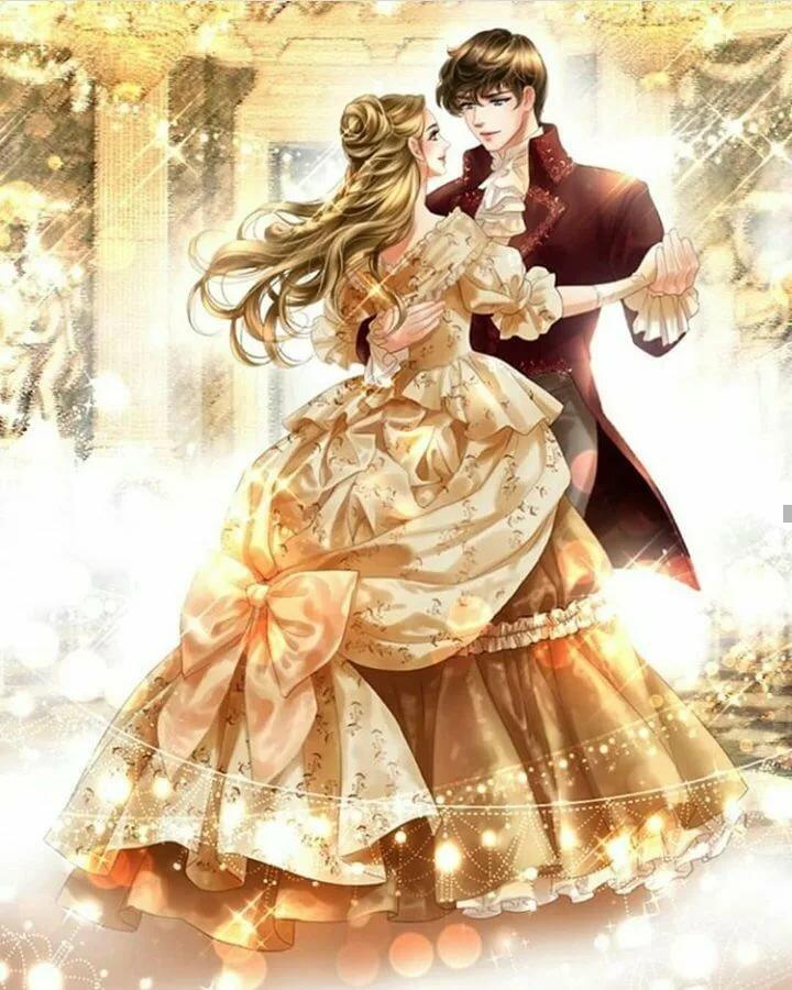 пара танцует картинки фэнтези свет
