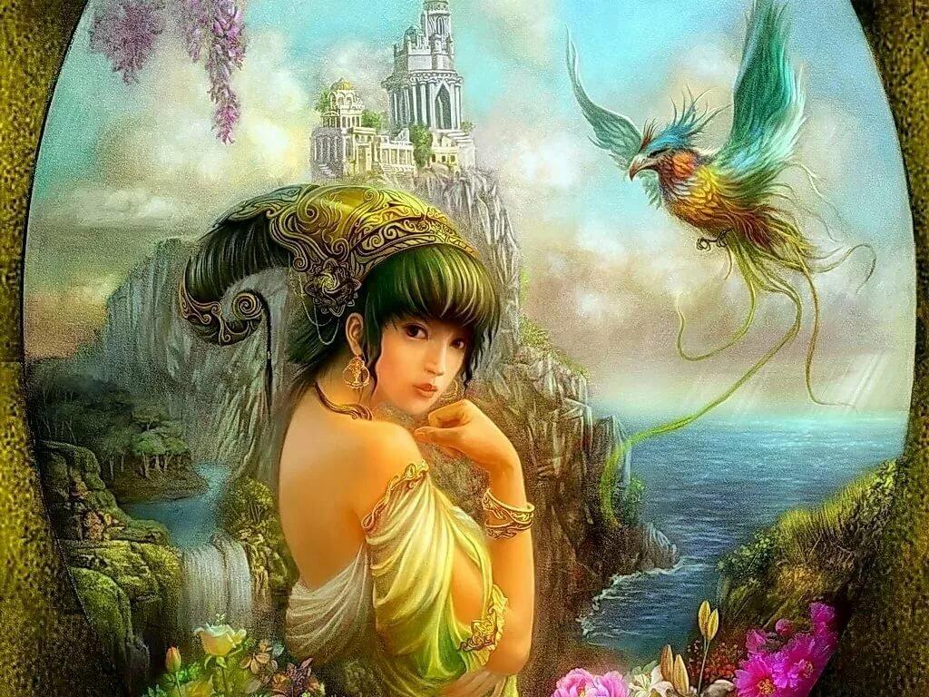 Сказочные красивые девушки картинки