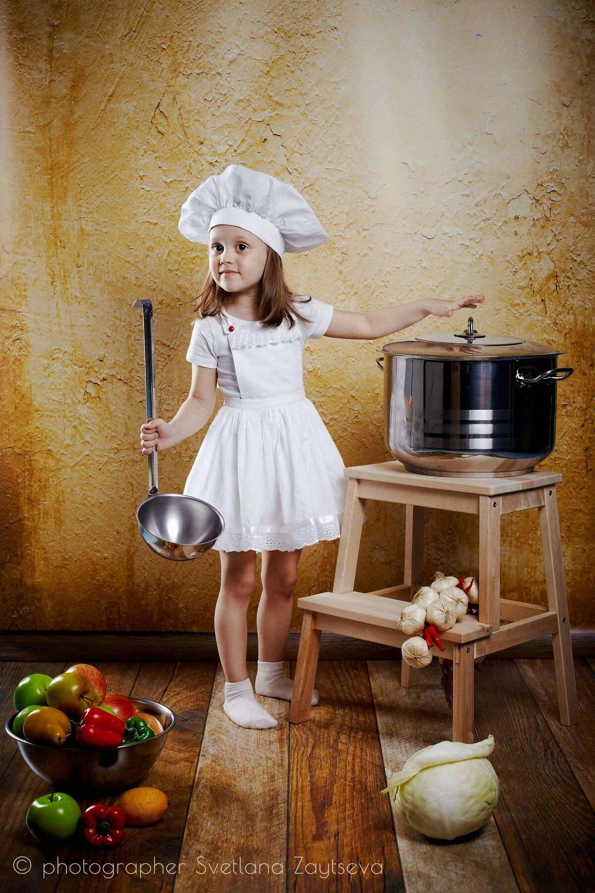 украшения на кухню своими руками фото поваренок открытка