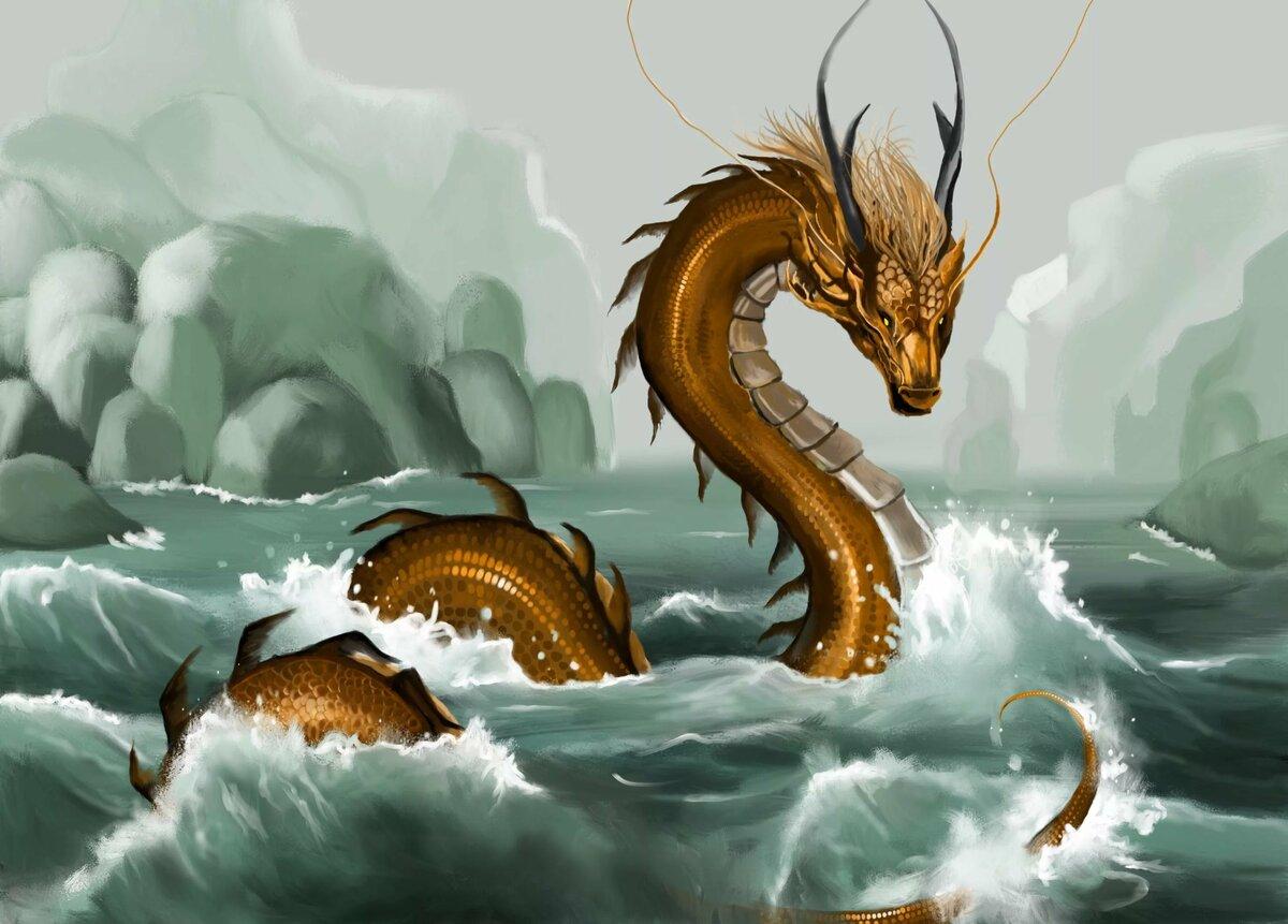 Картинки водных драконов