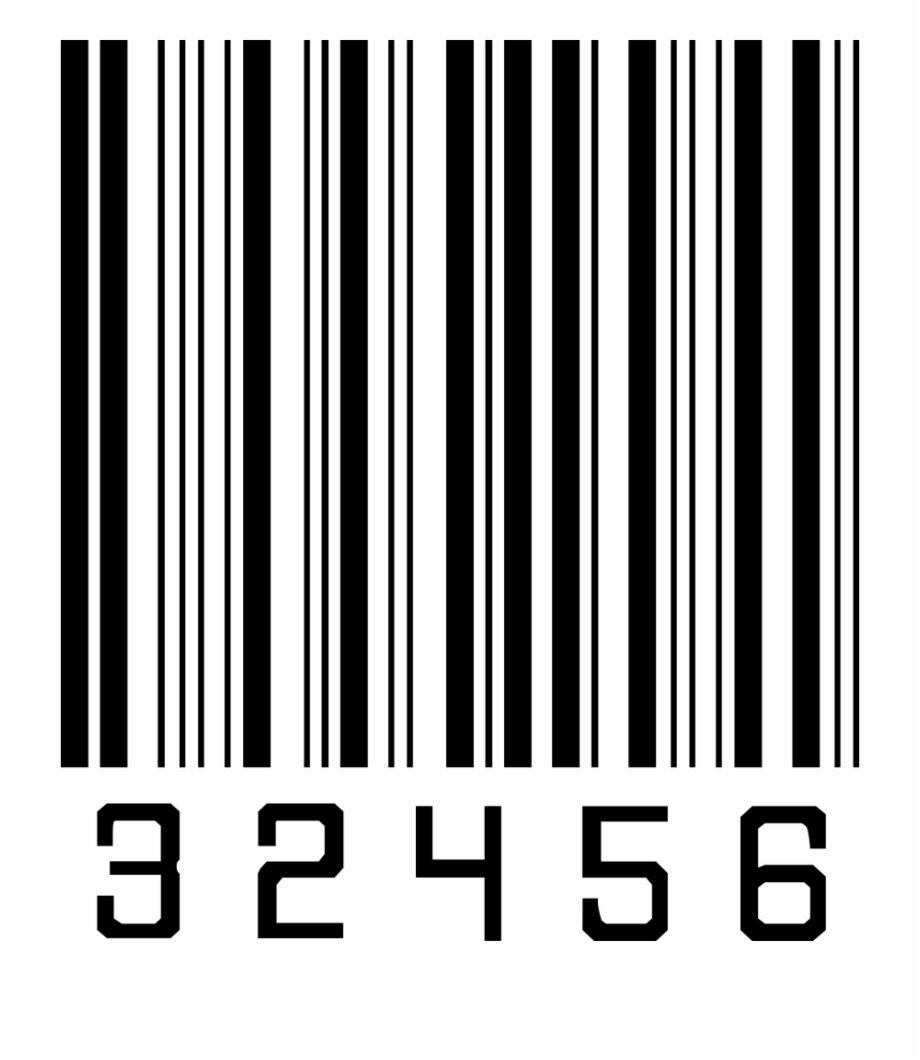 Штрих код для открытки
