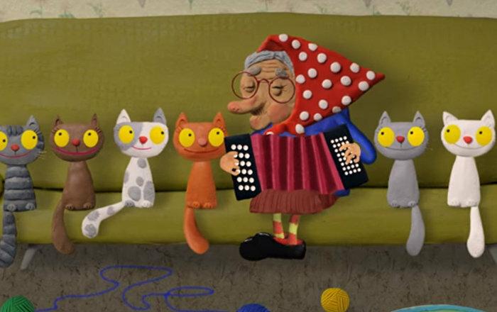Семь кошек картинки