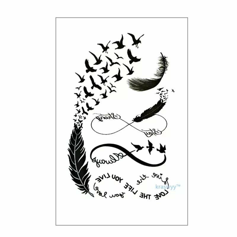 Картинки переводных татуировок шаговой