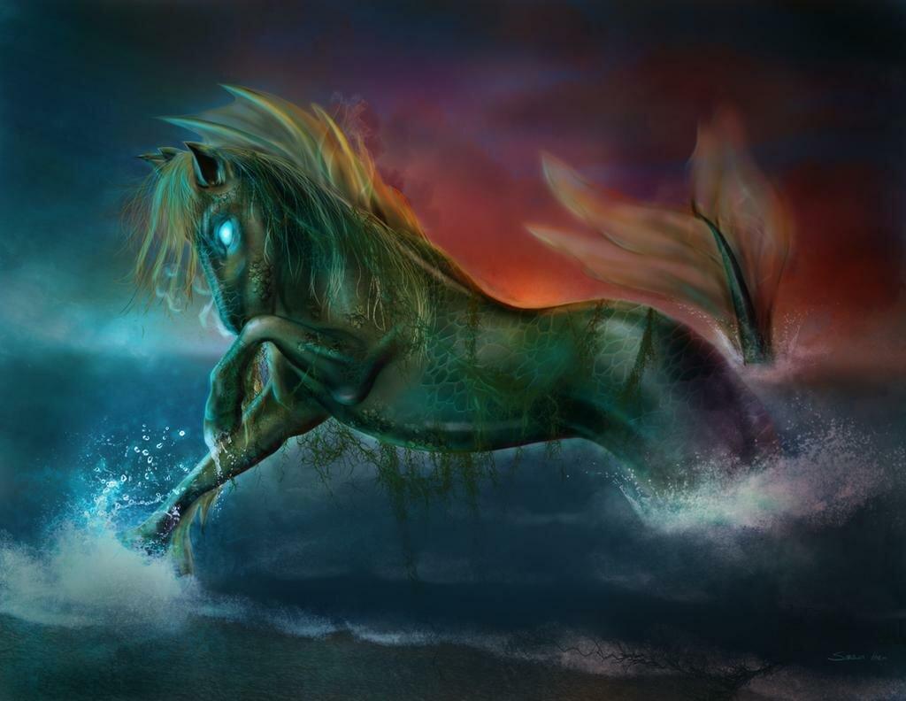 Картинки лошадей мифических