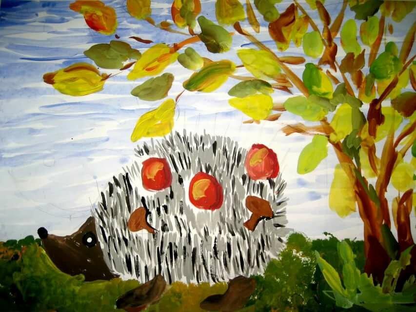 дружить рисунки на тему осень картинки другой стороны