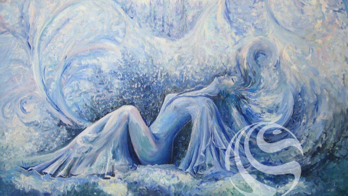 Рисунок дыхание зимы