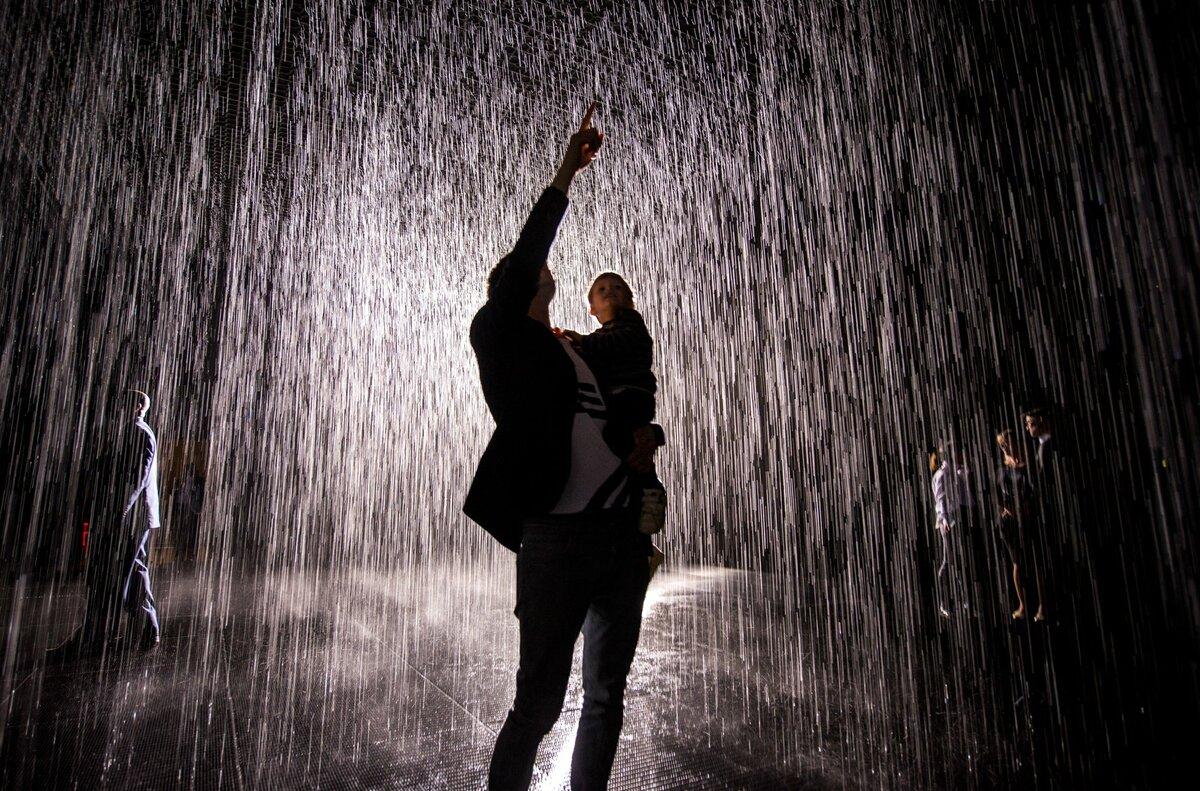 Картинка мокнуть под дождем