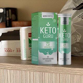 Keto Guru шипучие таблетки для похудения в Рязани
