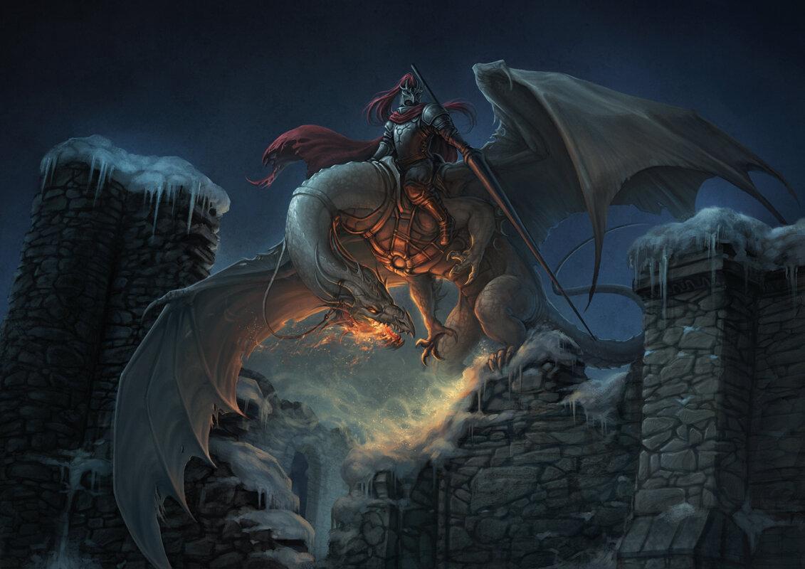 картинки нападающие драконы рыцари окончания школы
