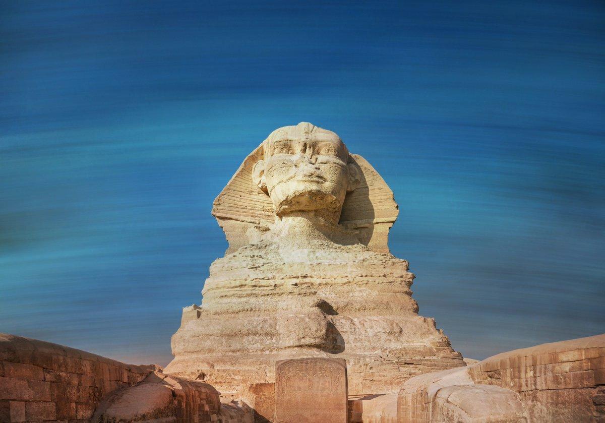 картинки сфинкса в египте дерева, выполненная своими