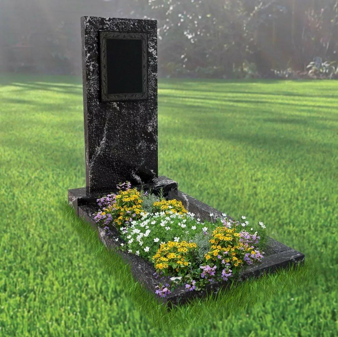 Картинка с надгробием