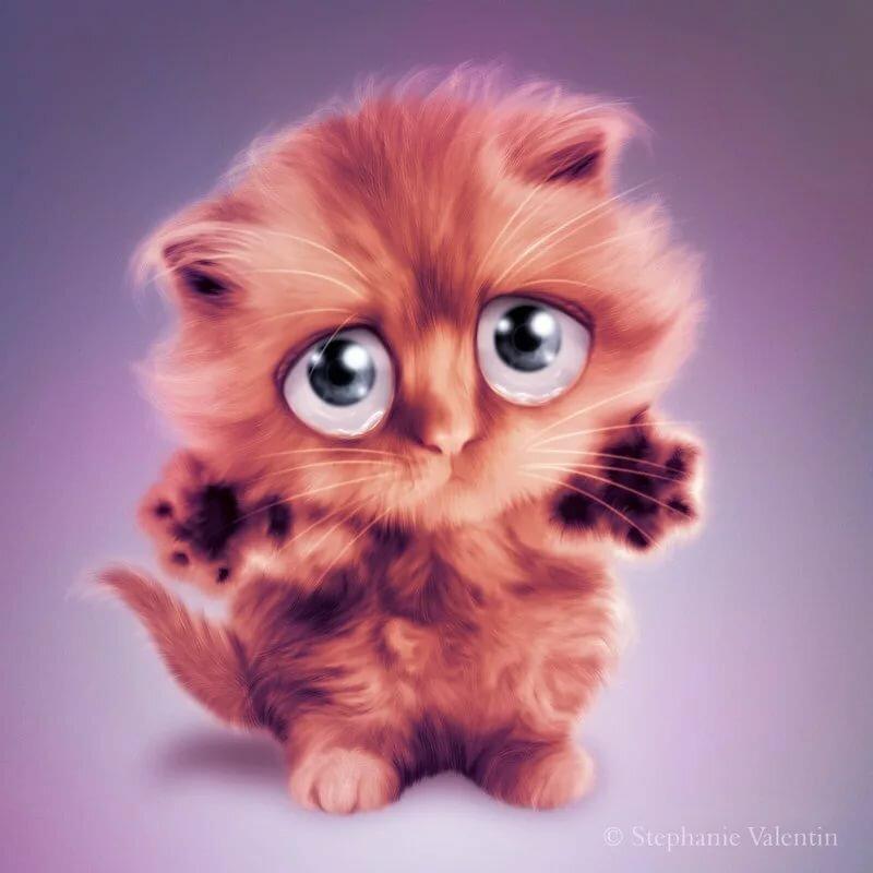 изменить картинка с грустными глазами котенка старший