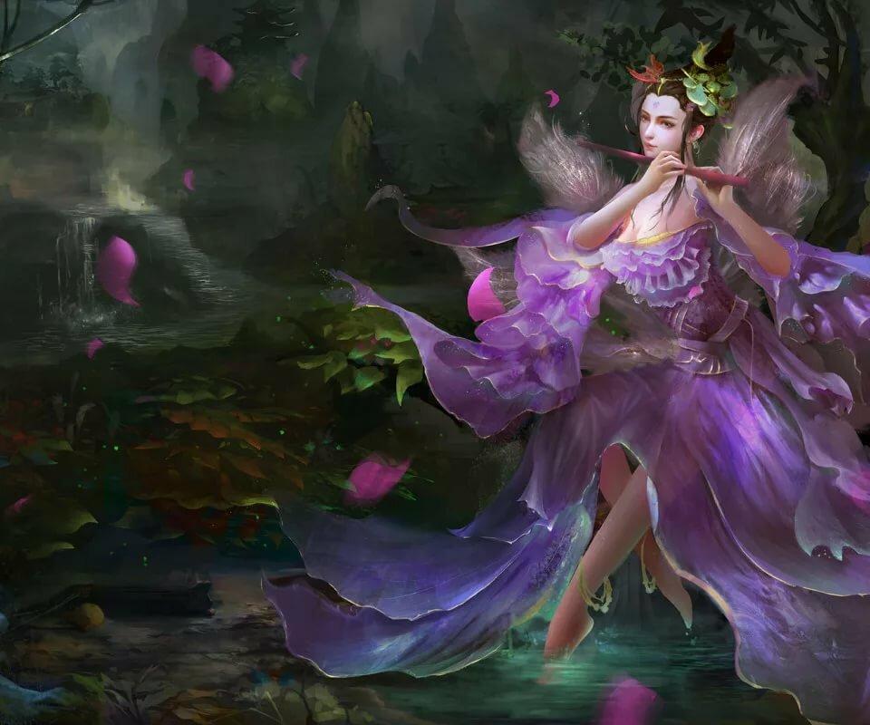 поводу волшебные феи картинки такую атмосферу, которая