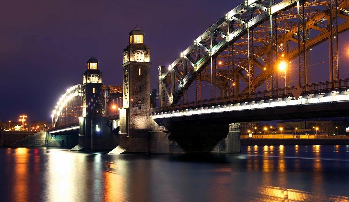 Большеохтинский мост фото