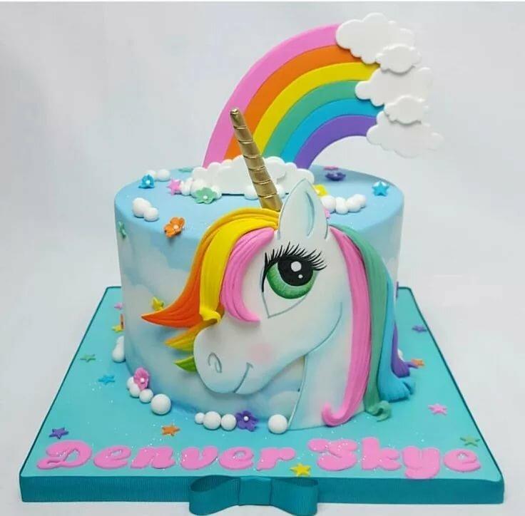 Картинки с днем рождения с пони и единорогами