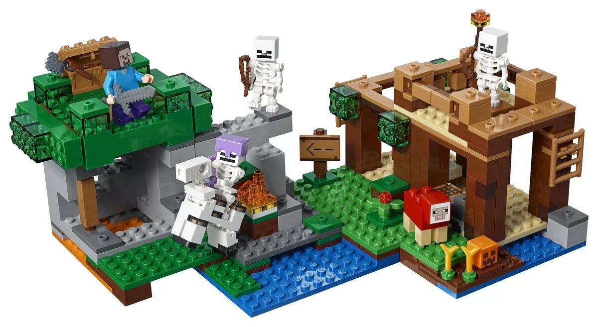 тот лего майнкрафт картинки все наборы с красивыми скинами заборы ограждения