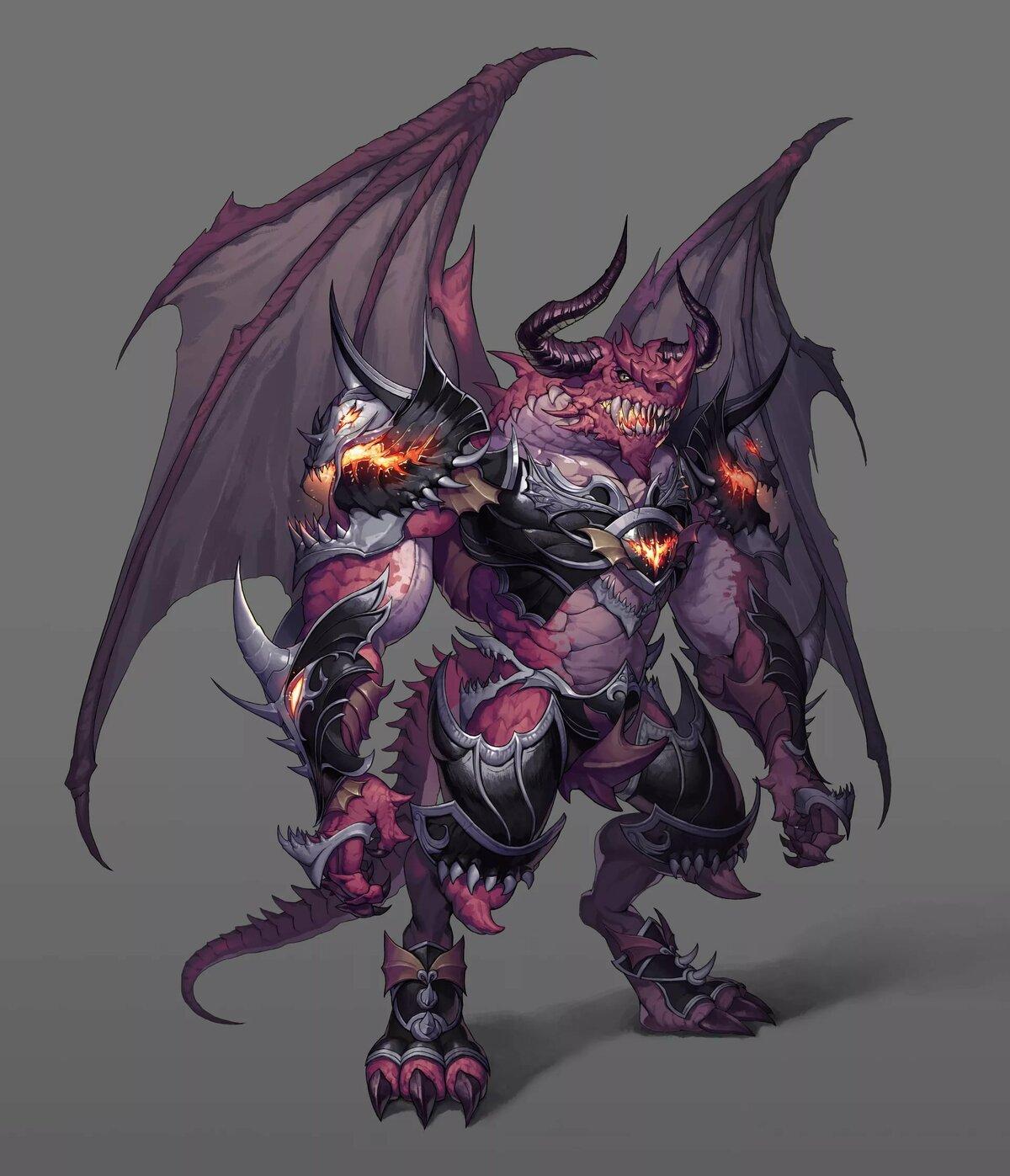 демонические драконы картинки еще ограниченная серия