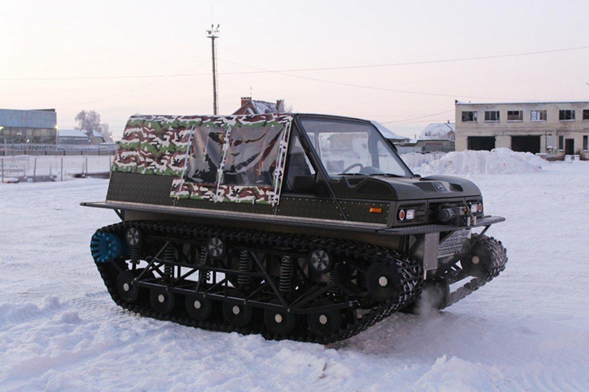 Вездеход Русак-3918 «Патруль»