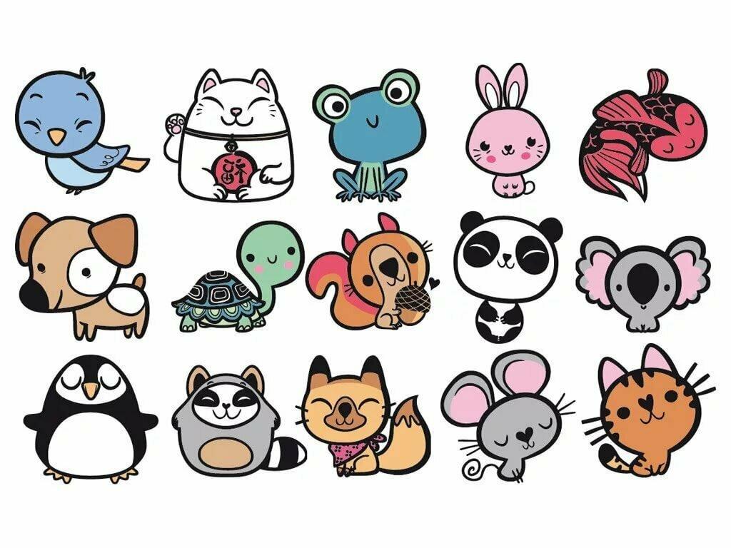 Картинки для дневника с животными