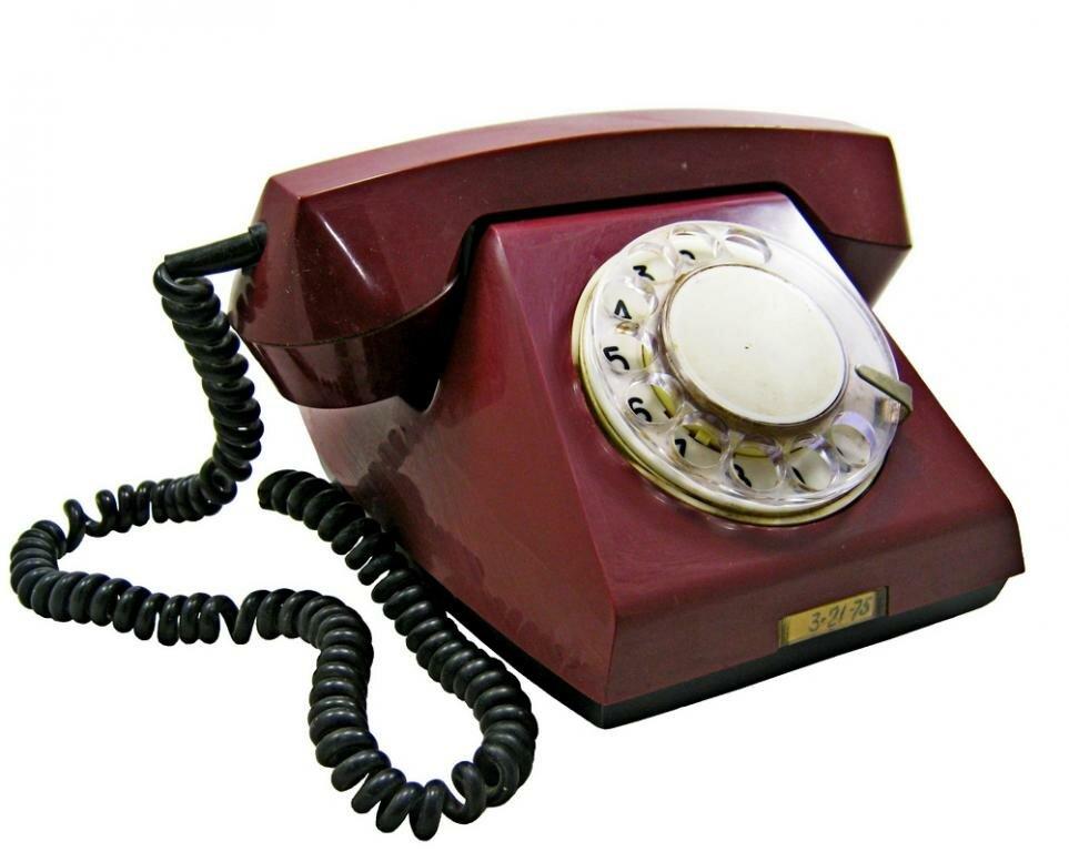 Дисковый телефон картинка