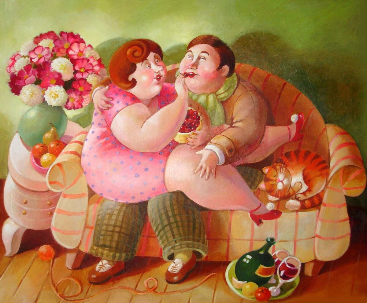 прикольные картинки с жирными