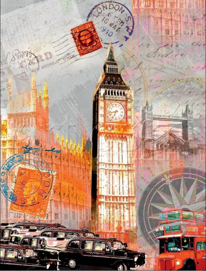 Открытки лондон путешествие, открытка