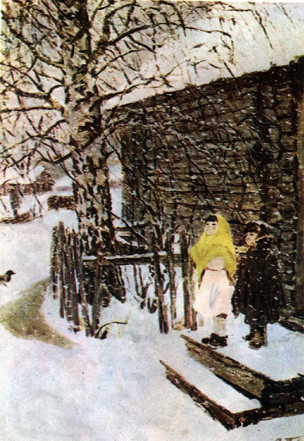 картинка платонова первый снег миди