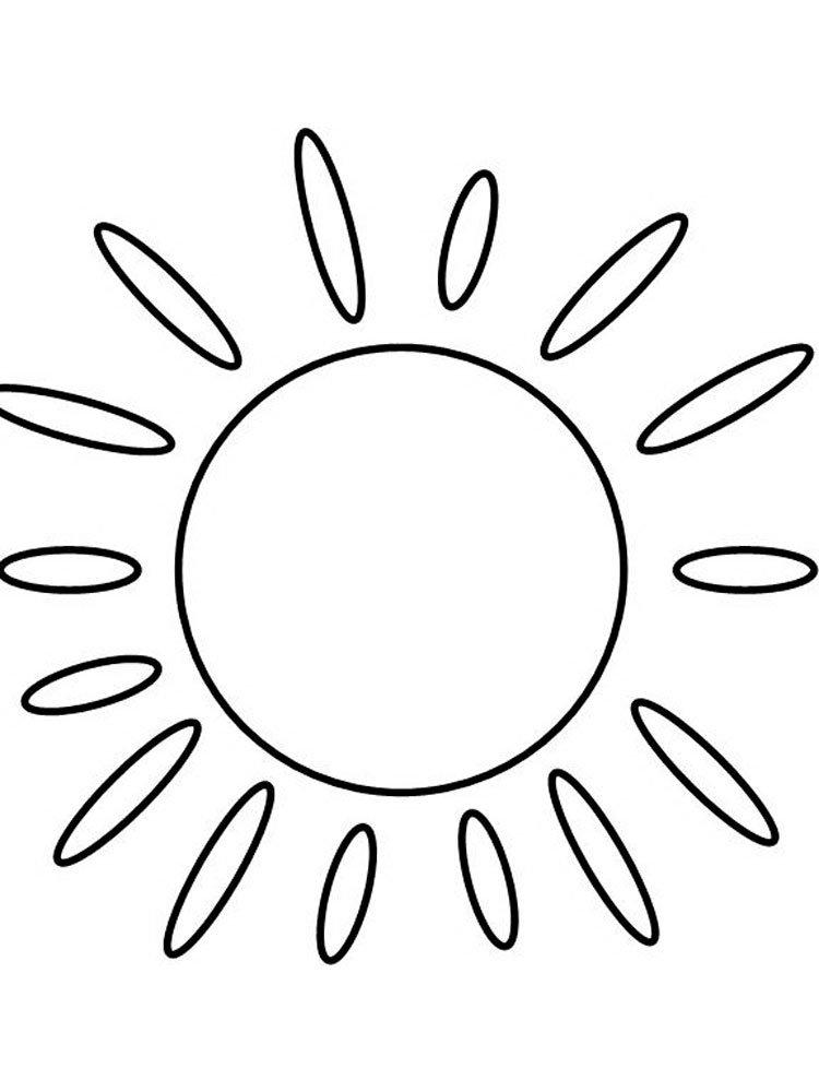широкоформатные картинка для раскрашивания солнце почек появление первых