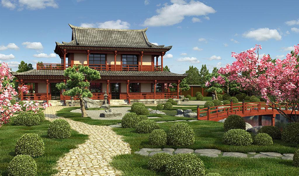 высоко оценивают проекты китайских домиков фото класс