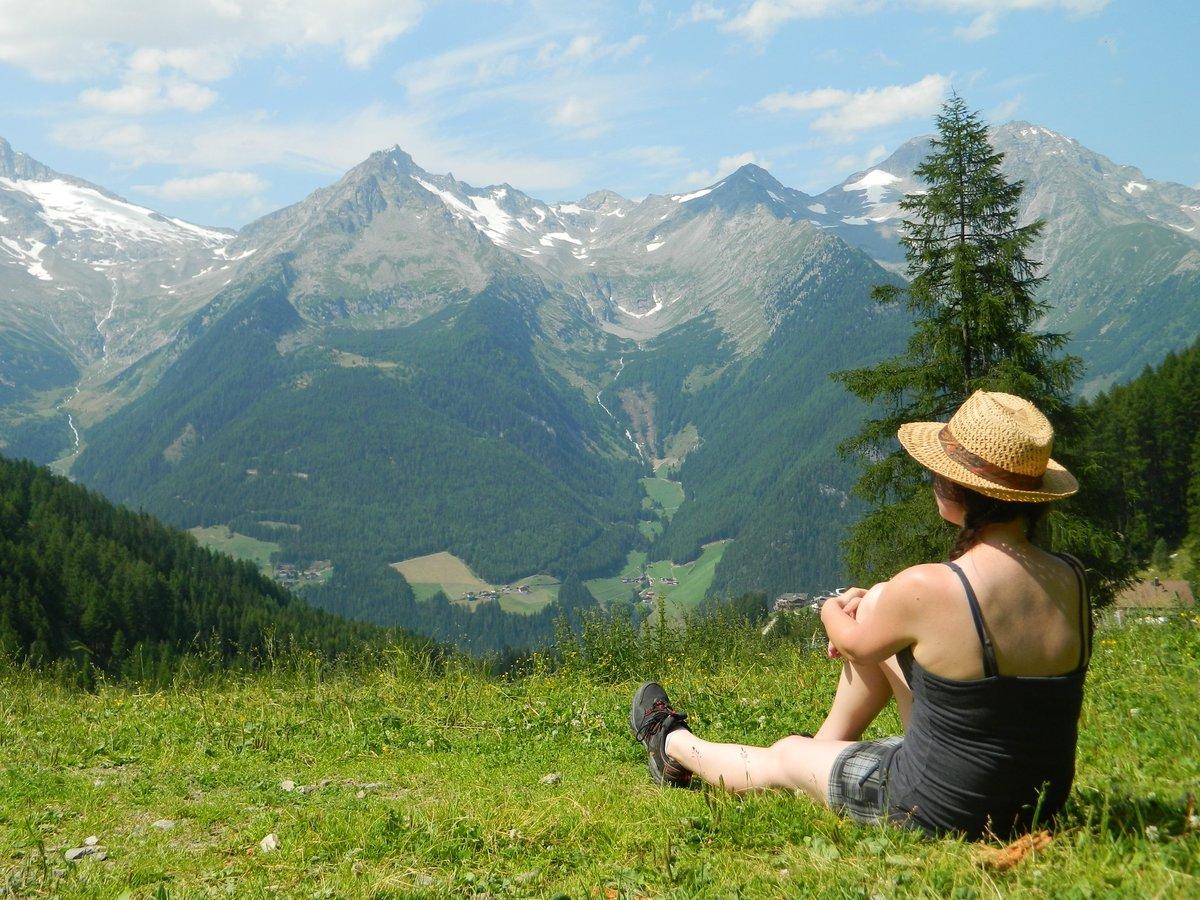 фотосессия в горах летом холода