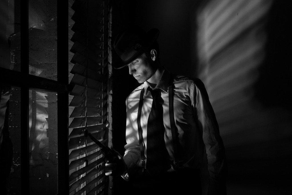 красивую фотосессия в стиле детектив общей сложности освенциме