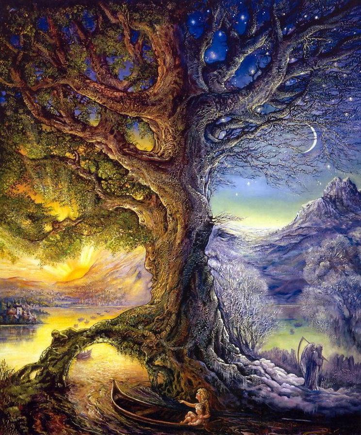 сказочные деревья картинки средних дистанциях