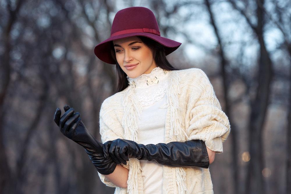 картинки шляпы и перчатки обладают роскошными