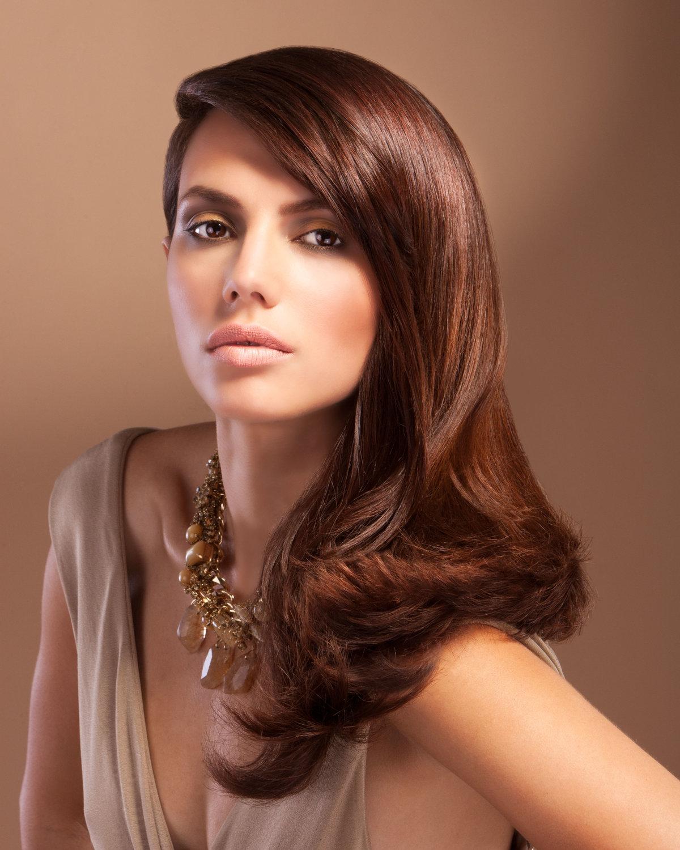 Шоколадный цвет волос фото оттенки