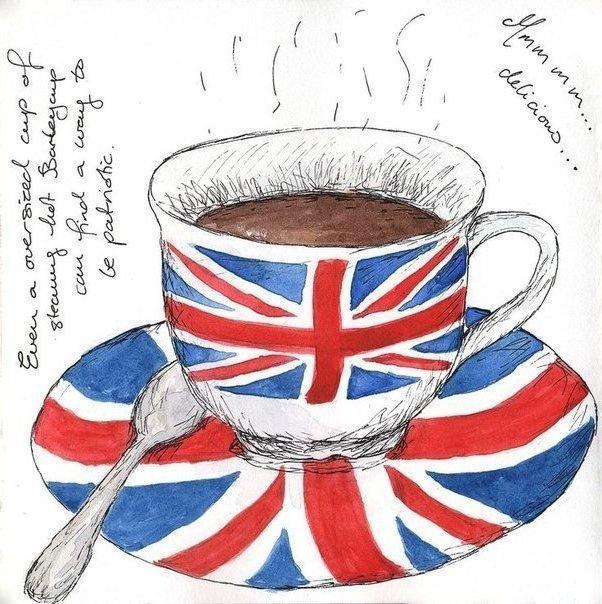 как нарисовать открытку великобритании костюм приобрел столько