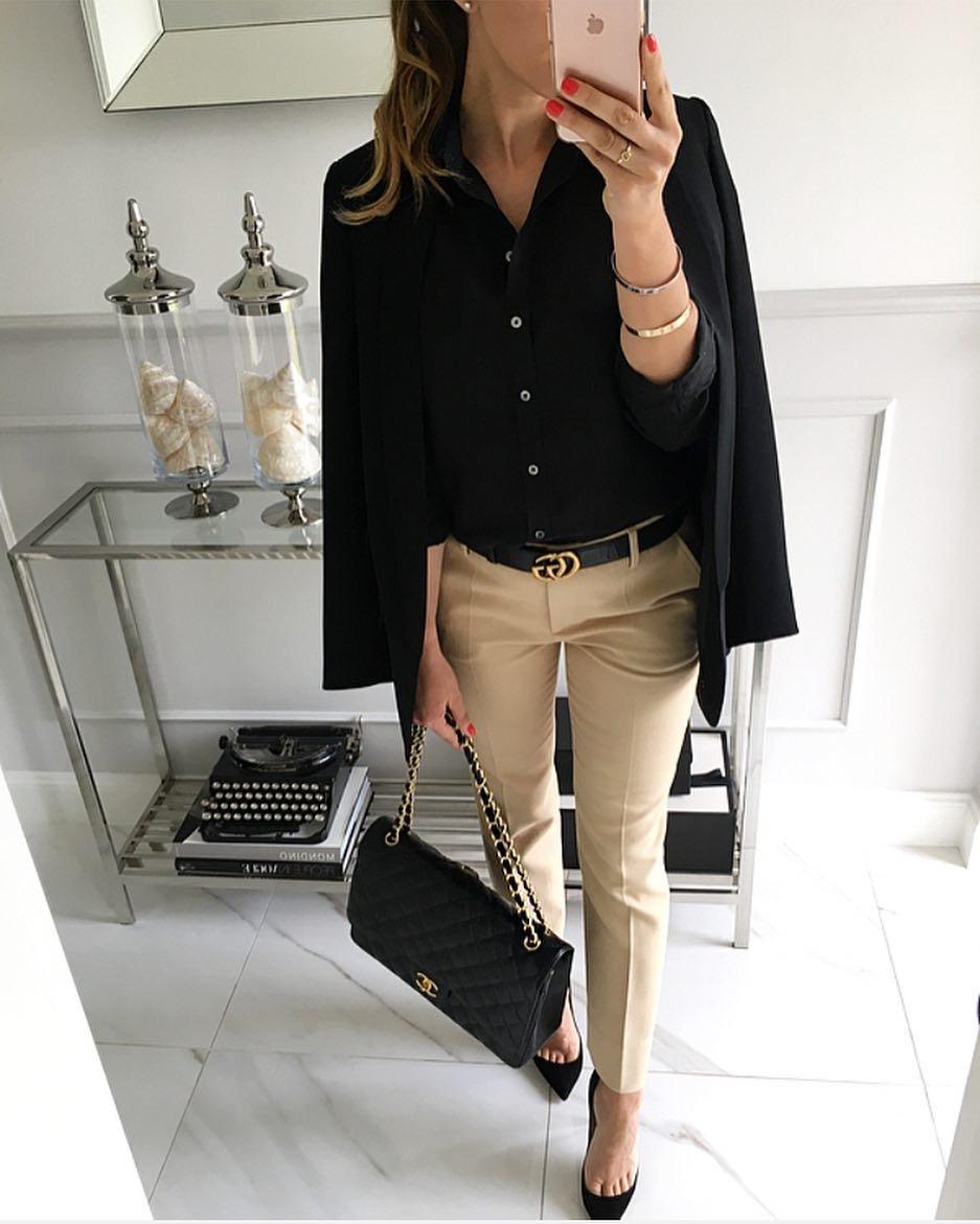 идиальная женская рубашка образы в офис