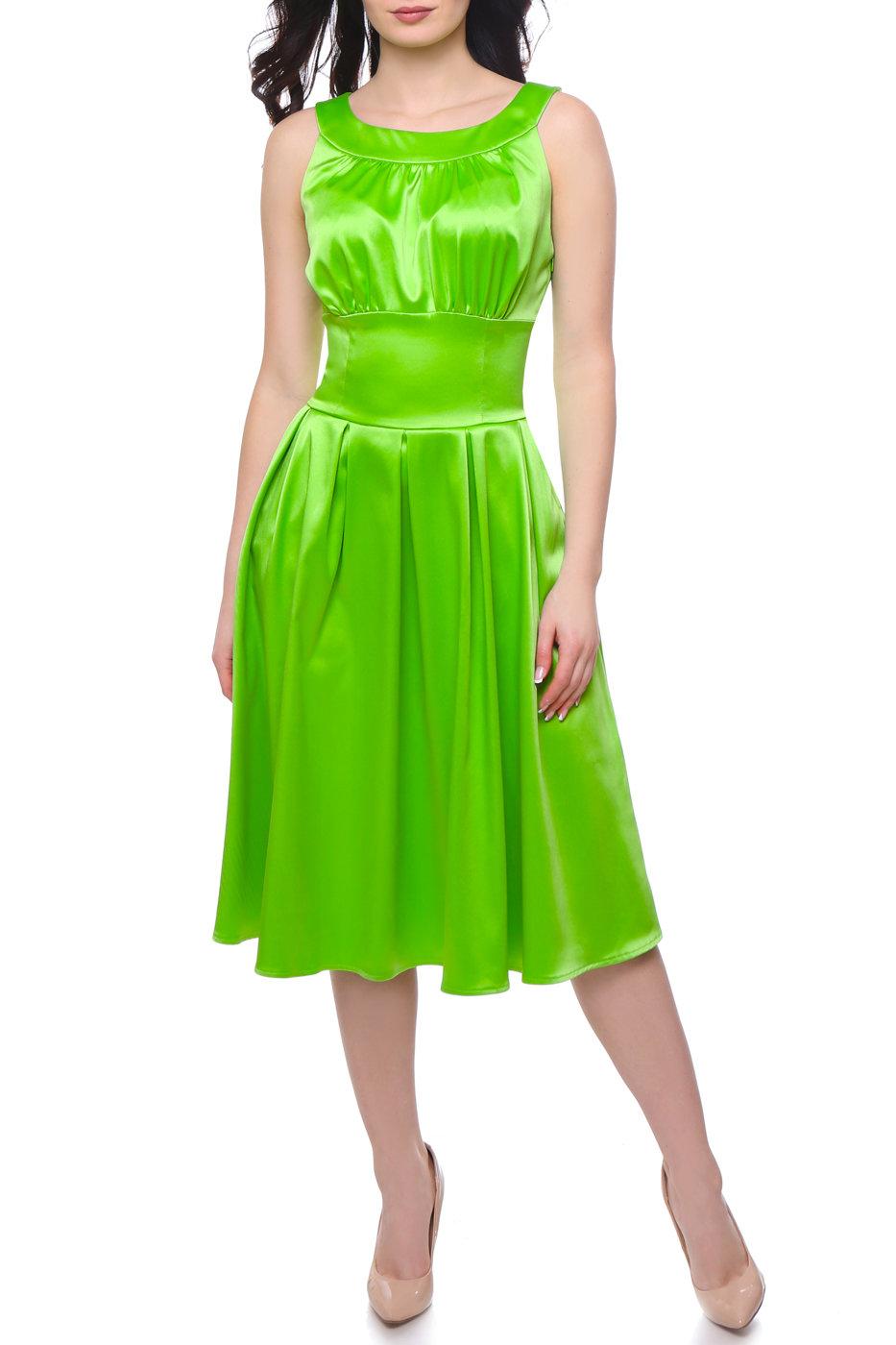 картинки платья зеленое