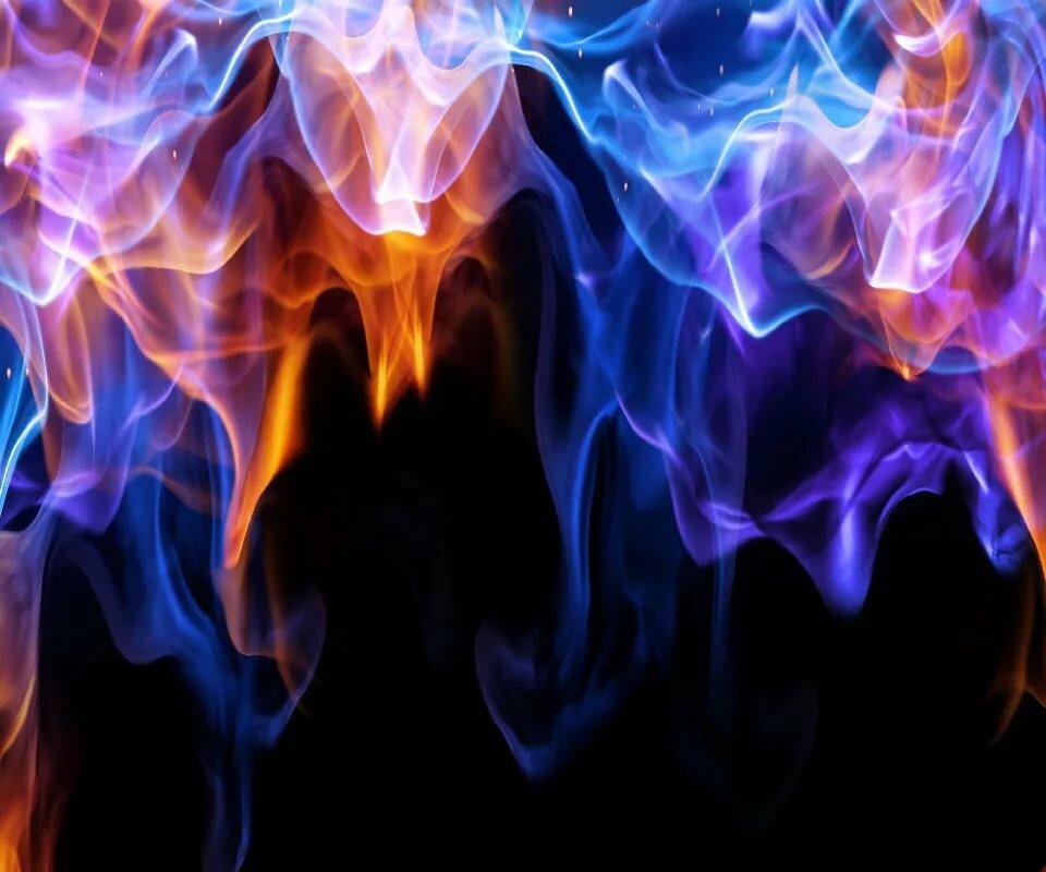 Фотки огонь синий