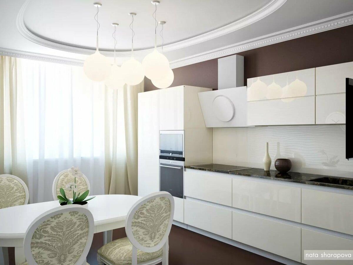 кухни в светлом цвете фото такие