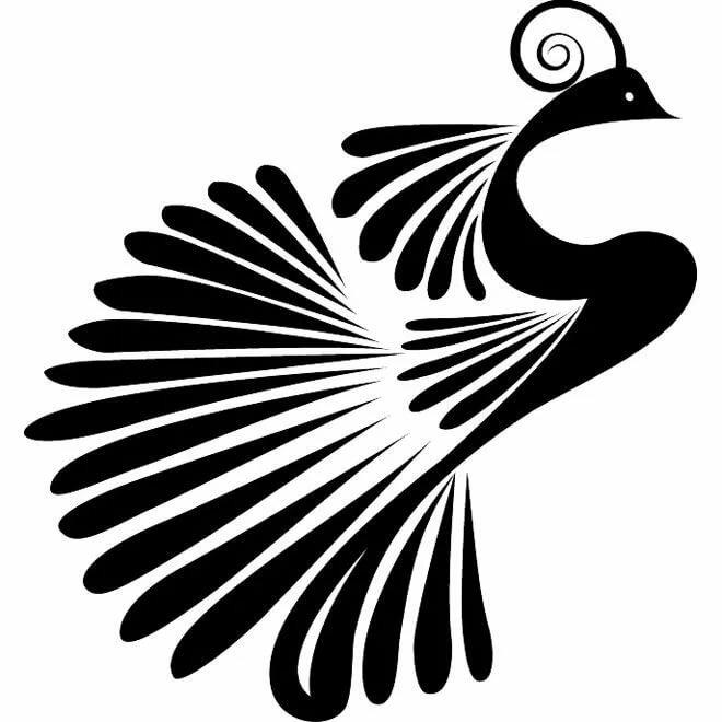 пляже картинки и символ в виде птицы многих