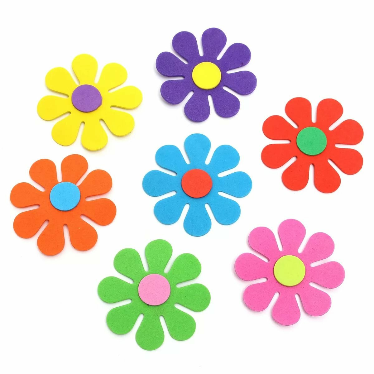 Цветочки картинки для вырезания цветные
