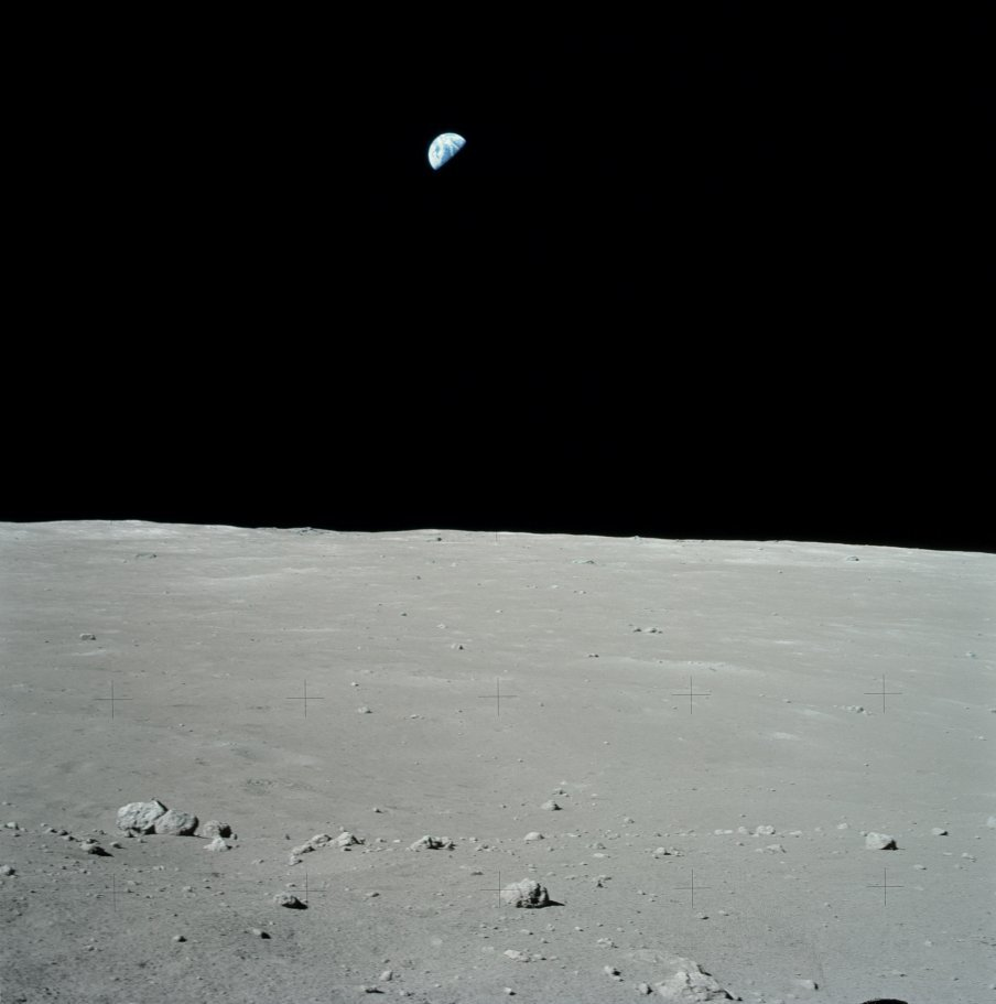 earth from the moon - 904×911