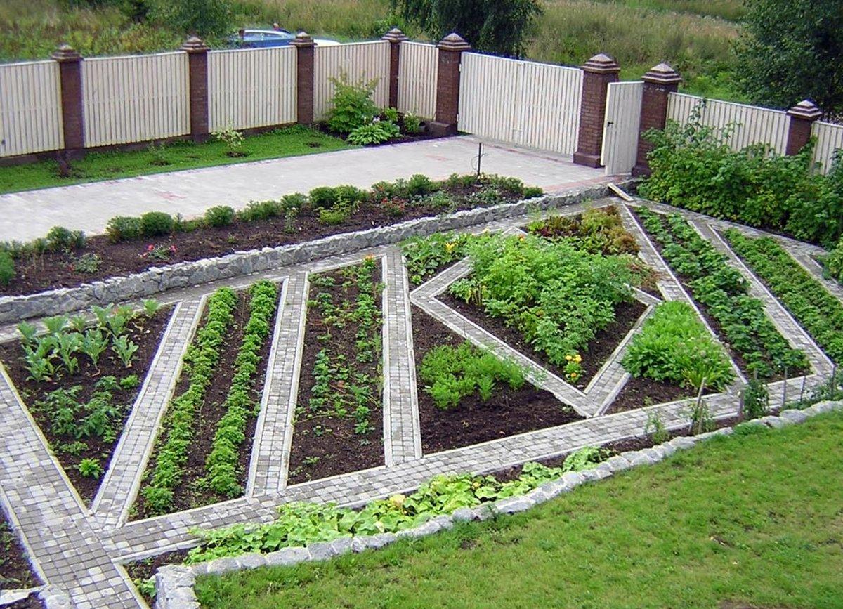 Дизайн огорода своими руками картинки фото фото 795