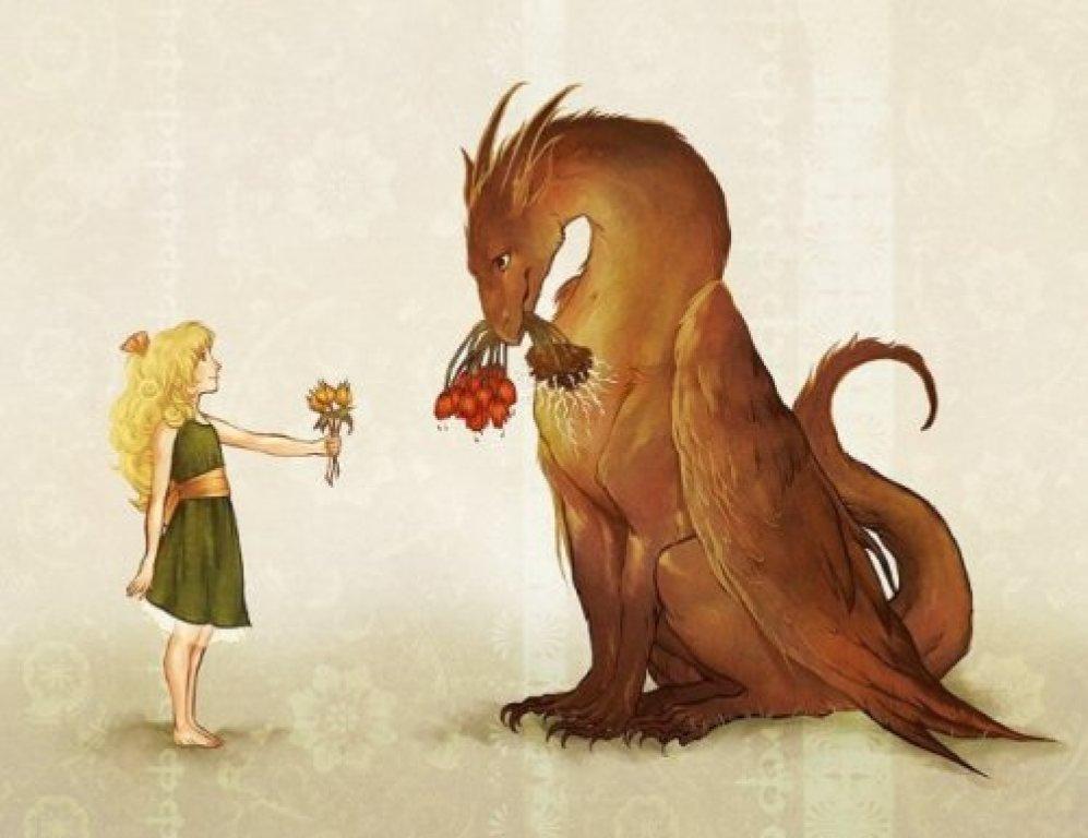 Для учителя, смешные картинки драконов девочек