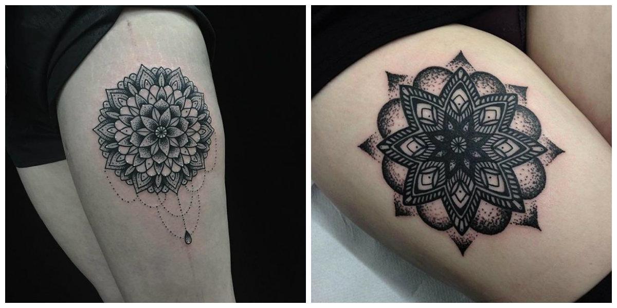 Los Tatuajes De Mandalas No Son Solo Un Patrón De Figuras